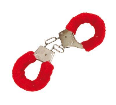 Χειροπέδες με γούνα κόκκινη - 80138 70b8f595673