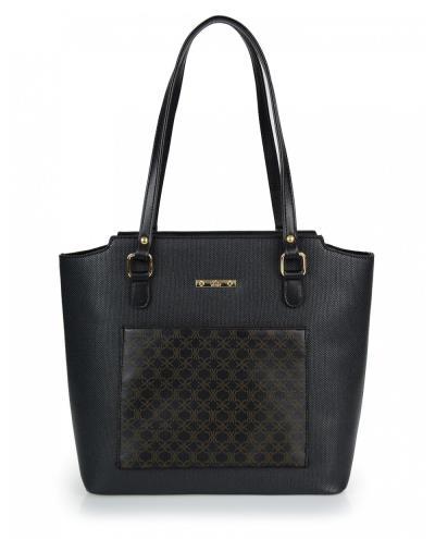 6e784024cc Τσάντα ώμου veta μαύρη (5047-1)