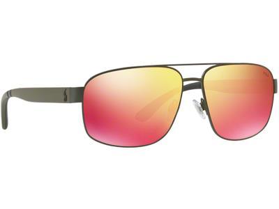 Γυαλιά ηλίου Polo Ralph Lauren PH 3112 9005 6Q Πράσινο Κόκκινος Καθρέφτης  (9005  52e2fe499f7