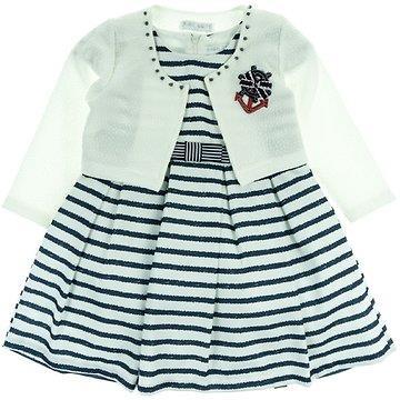 0b99538722a4 Εβίτα παιδικό αμπιγιέ φόρεμα   ζακέτα μπολερό «Anchor»