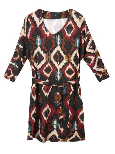 3975ea3120f γυναικεία top secret print φορεματα - Totos.gr