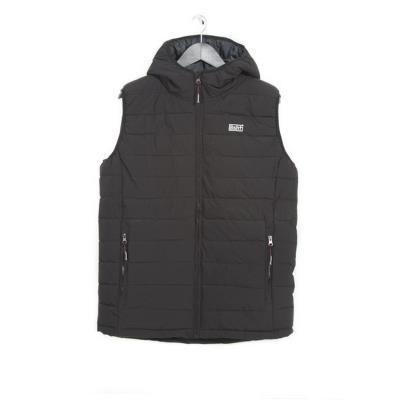 Μπουφάν-Τζάκετ Men s P.P. Down Vest Jacket Basehit ΜΑΥΡΟ fddc58c7d2f