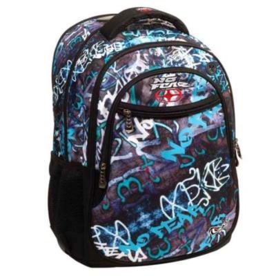 dc424fd010 Τσάντα σακίδιο οβάλ No Fear Street Graffiti 347-41031 Back Me Up