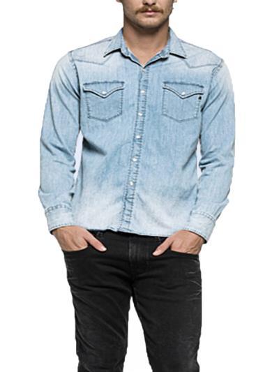 ανδρικά γαλαζιο manchester πουκαμισα - Totos.gr 27168ead80b