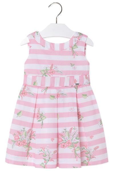 5cece32fc1a Mayoral 28-03972-034 Φόρεμα αμάνικο Ροζ Mayoral