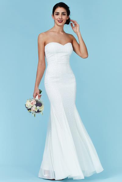 36baa2b032ee bridal luxe sweetheart φόρεμα degraded paillettes
