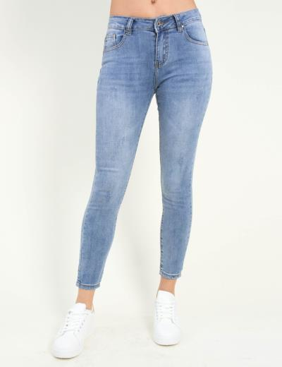 Γυναικείο μπλε χλώριο τζιν παντελόνι σωλήνας ITA1081 85af094d0fd