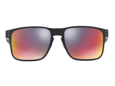 ff0f3a60fc Γυαλιά ηλίου Oakley Holbrook Metal OO 4123 02 Ματ Μαύρο Κόκκινος Καθρέφτης  (4123
