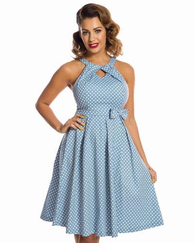 4786b856e9f0 vintage cute φόρεμα chic bow Hariette