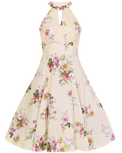 51587aa38f1b vintage φόρεμα english porcelain Lucinda floral