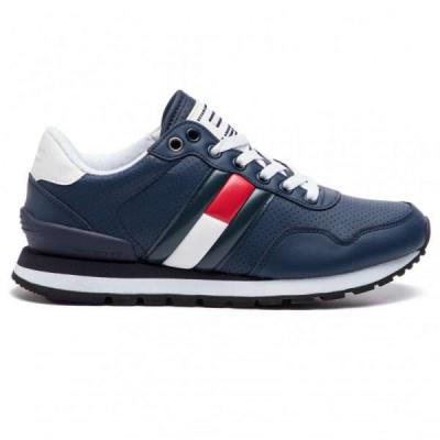 9e37b799e4e Tommy Hilfiger Lifestyle Tommy Jeans Μπλε Ανδρικά Sneakers EM0EM00263 INK  006 To
