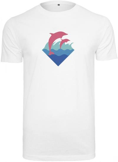 5f180b33c782 Ανδρικό T-Shirt Pink Dolphin Logo Pink Dolphin PD030 White