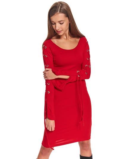 8d575fbad8e3 φόρεμα μιντι κοκκινο ρουχα - Totos.gr