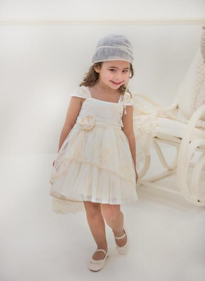 a83eedd8d7a Φόρεμα Βάπτισης Babybloom Από Δαντέλα Με Ουρά Κωδ:11978