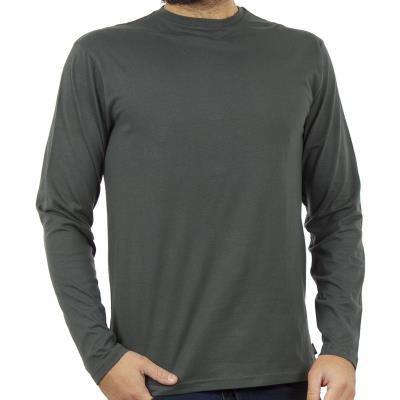 0940f93b4ffc Ανδρικό Μακρυμάνικη Μπλούζα DOUBLE TS-70 Pesto