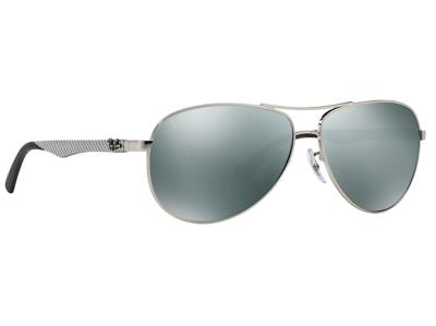 c0aca8b806 Γυαλιά ηλίου Ray-Ban Carbon Fibre RB 8313 003 40 Ασημί Ασημί Καθρέφτης (003  40)