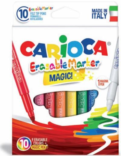 e30e27a8d63 Μαρκαδόροι Ζωγραφικής CARIOCA ERASABLE 41238 (10 μαρκαδόροι)