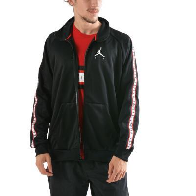 30f0bad37fe4da Nike Jordan Sportswear Jumpman Tricot Jacket AQ2691-010 - BLACK BLACK WHITE