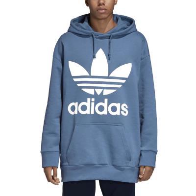 05960feaf2a9 adidas Originals Oversize Trefoil Hoodie - Μπλούζα με Κουκούλα DH5767 -  BLABLU
