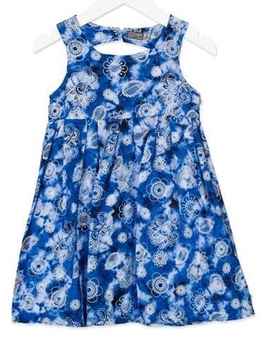 1fc43d7638f Losan 816-7024AD Φόρεμα αμάνικο Μπλε Losan