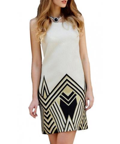 4533561c613 φόρεμα γυναικα μπεζ le vertige - Totos.gr