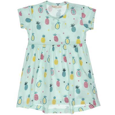 Φόρεμα με κοντό μανίκι και μοτίβο ανανά (9 μηνών-3 ετών) 00241262 ΚΥΠΑΡΙΣΣΙ 8f3d18f0772