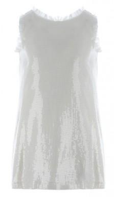 Marasil 21812122 Φόρεμα αμάνικο Εκρού Marasil d75bcbbaf82