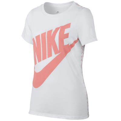 Nike G NSW TEE SS MESH FUTURA 837964-100 - WHITE 670b1d49d08