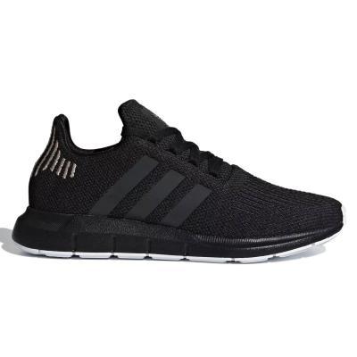 separation shoes 1eee8 ff09f adidas Originals Swift Run Womens Shoes B37723 - BLACK