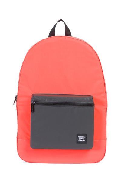 184fad577a Daypack backpack neon orange reflective black reflective - 1