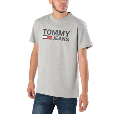Tommy Hilfiger TJM TOMMY CLASSICS LOGO TE DM0DM04837-038 - LIGHT GREY  HEATHER 39fd740af5f
