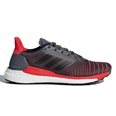 purchase cheap 77043 01ea7 adidas Performance Solar Glide - Ανδρικά Παπούτσια CQ3176 - DARK GREY RED