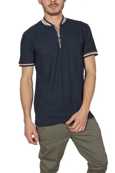 Anerkjendt Mace T-shirt μάο μπλε σκούρο - 9217355 5576f6b338c