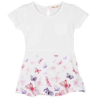 Φόρεμα (Κορίτσι 12 μηνών-3 ετών) 00241126 ΛΕΥΚΟ a177ffc11a4