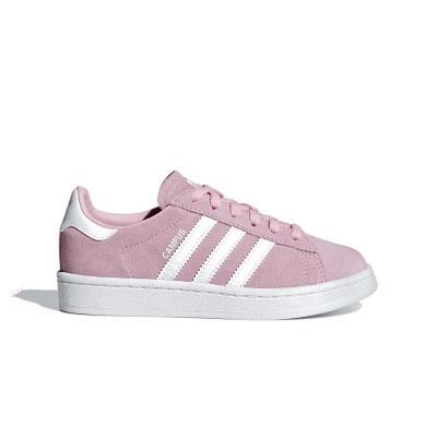 adidas Originals Campus - Παιδικά Παπούτσια CG6653 - LTPINK FTWWHT FTWWHT 516e013b34c