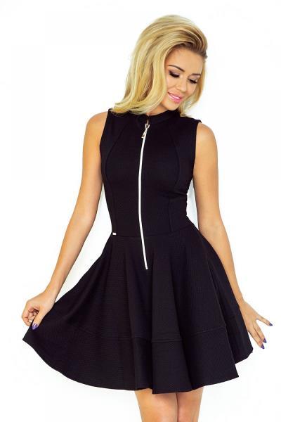 Κλος αμάνικο μίνι φόρεμα - Μαύρο 4fc17fc39c0