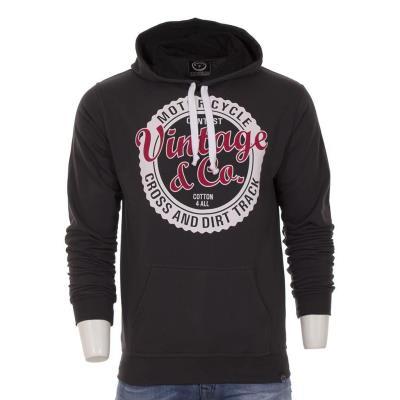 Ανδρικό Μπλούζα Φούτερ με Κουκούλα Hoodie Cotton4all 18-452 Ανθρακί 0b860a85121