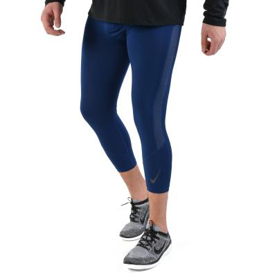 2d14f014faf4 Nike Pro 3 4 Training Tights - Ανδρικό Κολάν AO1799-492 - BLUE VOID BLUE  VOID IN
