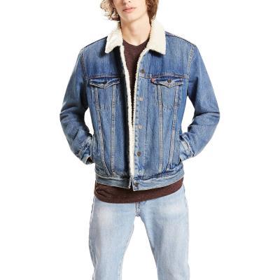 Levis The Trucker Sherpa Jacket 16365-0040 - DENIM BLUE 3e8e2c96615