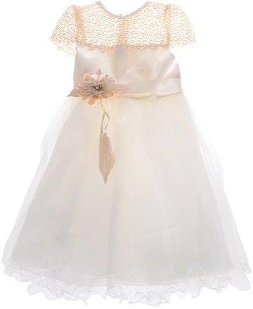 Baloncuk παιδικό αμπιγιέ φόρεμα «Golden Flower» 8e1d5fc7717
