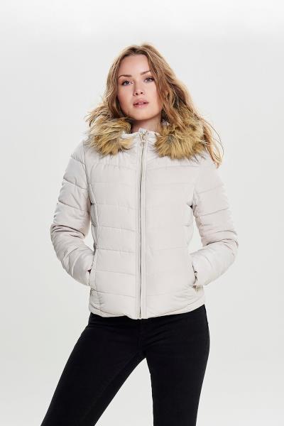 fcdd5221056a Γυναικείο Jacket Only - New Ellan Quilted Fur Hood