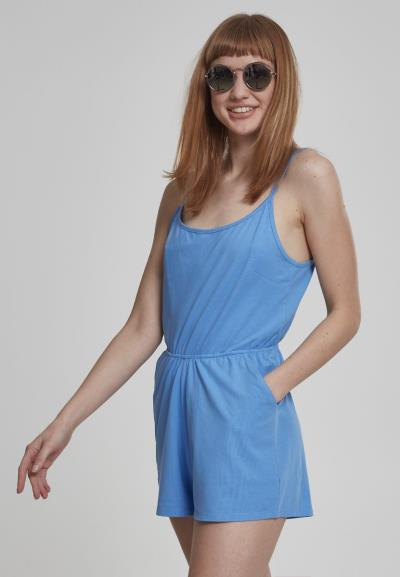8917ca7238f6 Γυναικεία ολόσωμη φόρμα κοντή με τιράντες Urban Classics TB1531 Horizon Blue