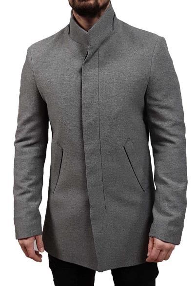 Vittorio - Corso - Grey - Παλτό 8c35207a094