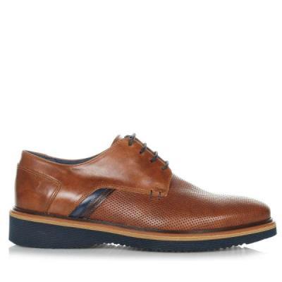 87cd3b30169 Kricket 223 Ταμπά Ανδρικά Δερμάτινα Παπούτσια Kricket 223 tobacco