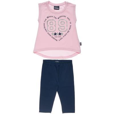 94ffe7cd8c5d Σετ Five Star μπλούζα με τύπωμα 89   κολάν (9 μηνών-5 ετών) 00270372 ΡΟΖ