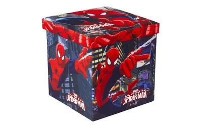 535644c0a9f Παιδικό Σκαμπό Πτυσσόμενο με Αποθηκευτικό Χώρο με θέμα Ultimate Spiderman  της MA