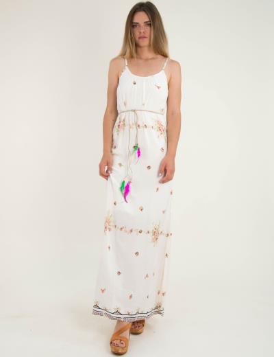 575a457a3da φόρεμα εκρου μαξι - Totos.gr