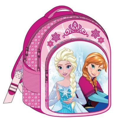 de92128799b Σχολική τσάντα πλάτης FROZEN ροζ ANNA & ELSA με 3 θήκες 32x43x18cm 2016 Νο2