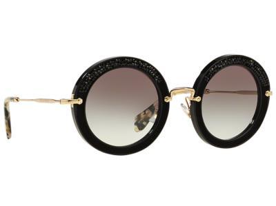 Γυαλιά ηλίου Miu Miu Pave Story Evolution SMU 08R 1AB 0A7 Στρας Μαύρο  Βελούδο Χρ 9042ec94222