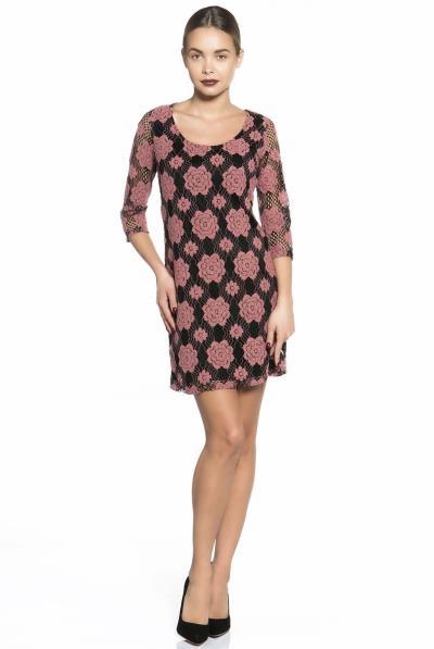 c0d670ce61dc φόρεμα ροζ δαντελα - Totos.gr